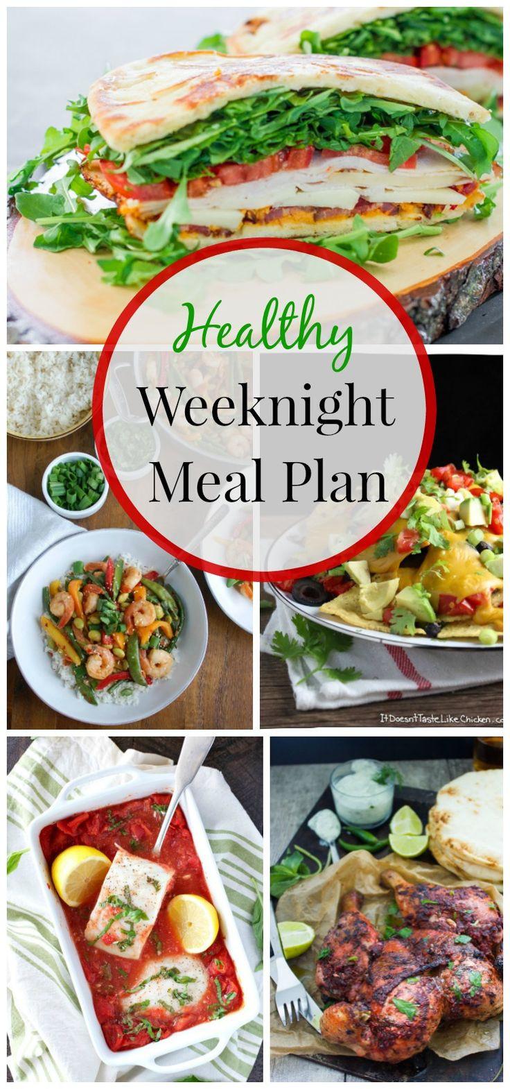Healthy Weeknight Dinners  Healthy Weeknight Meal Plan 14