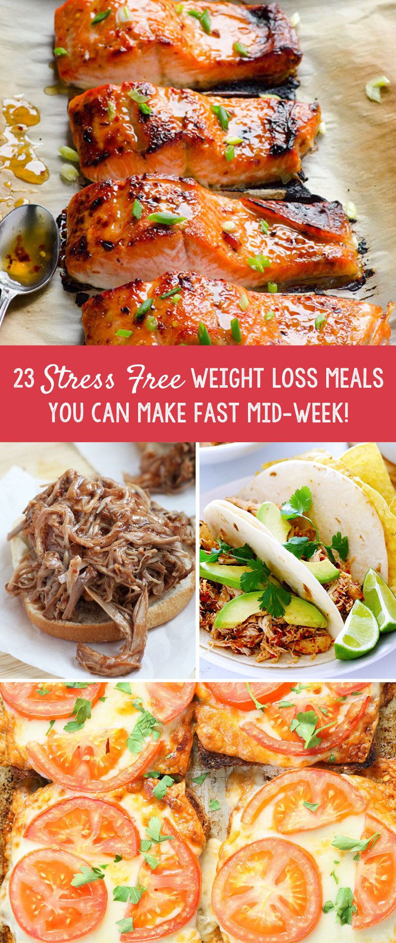 Healthy Weight Loss Dinners  23 Stress Free Weight Loss Meals You Can Make Fast Mid Week
