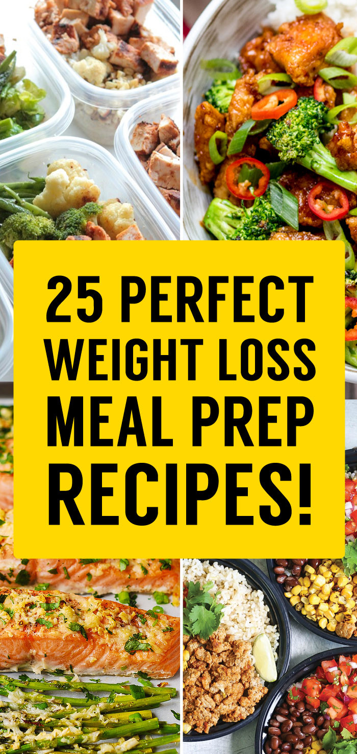 Healthy Weight Loss Dinners  25 Best Meal Prep Recipes That Will Set You Up For