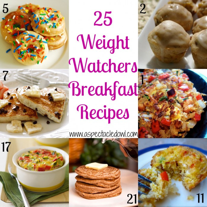 Healthy Weight Watchers Breakfast  25 Weight Watchers BREAKFAST Recipes A Spectacled Owl