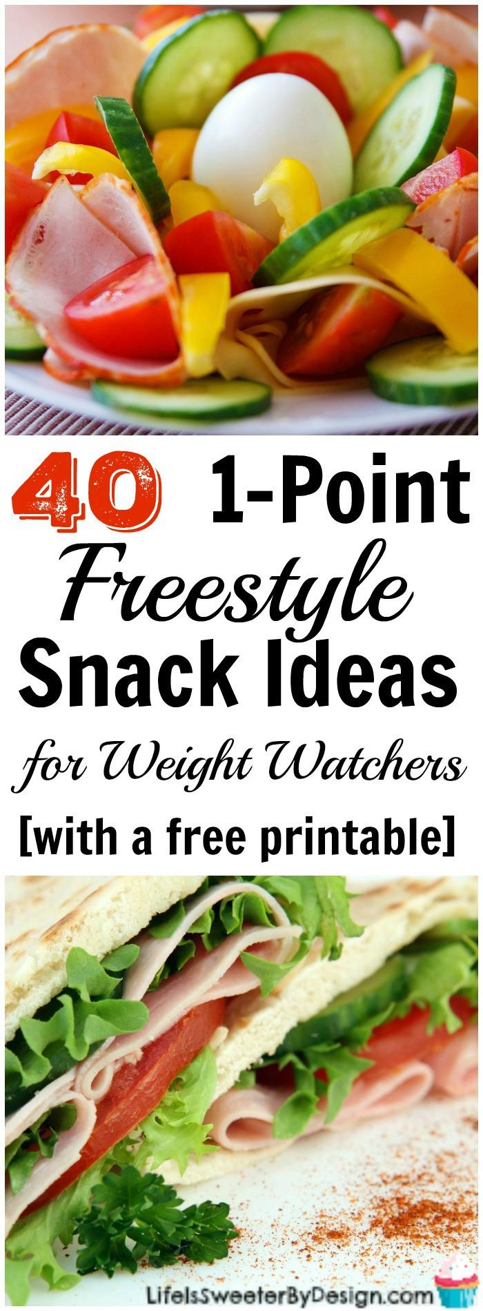 Healthy Weight Watchers Snacks  1 Freestyle SmartPoint Snack Ideas for Weight Watchers