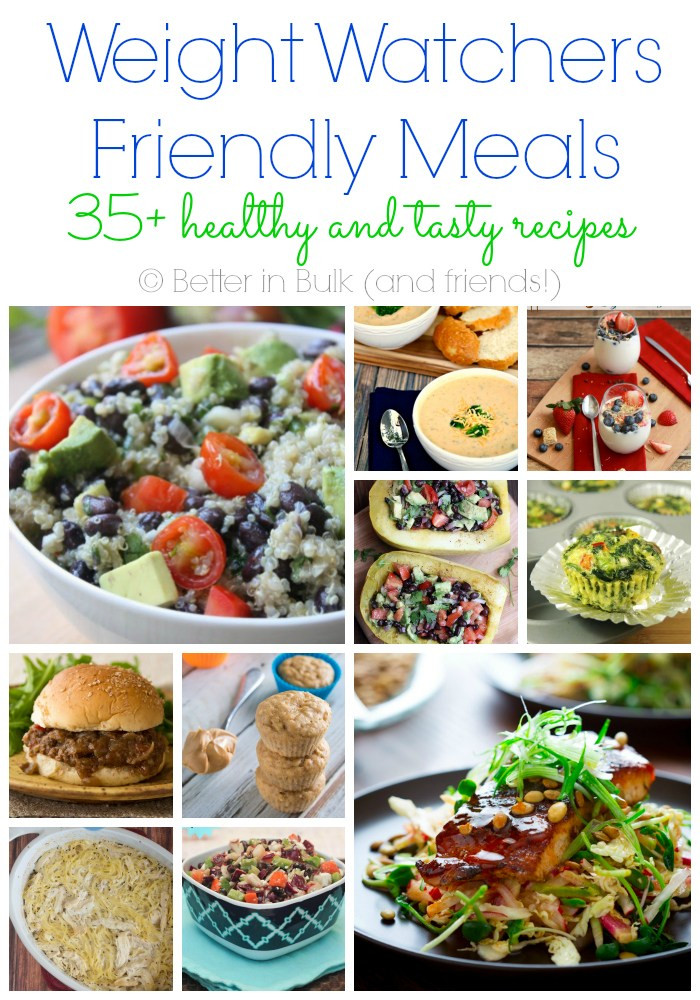 Healthy Weight Watchers Snacks  Weight Watchers Friendly Meals – A Collection of 35 Recipes