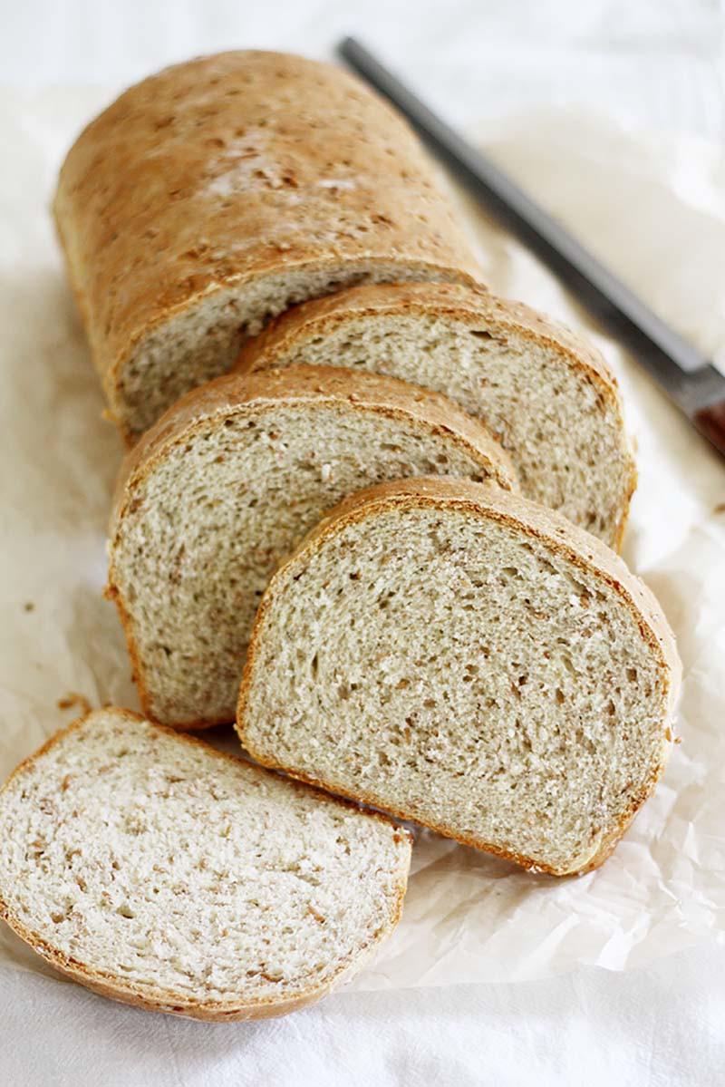 Healthy Wheat Bread  Cracked Wheat Bread recipe
