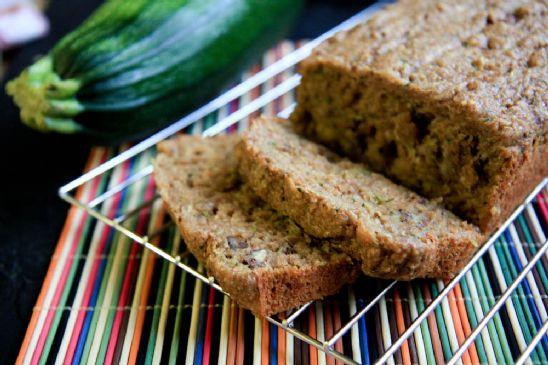 Healthy Wheat Bread Recipe  Healthy Whole Grain Zucchini Bread Recipe