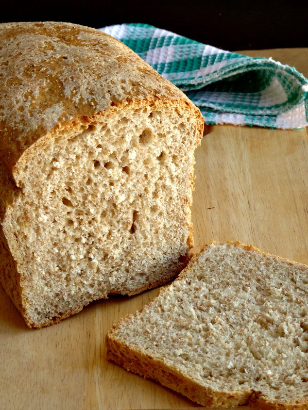 Healthy Wheat Bread Recipe  No Fail Whole Wheat Bread