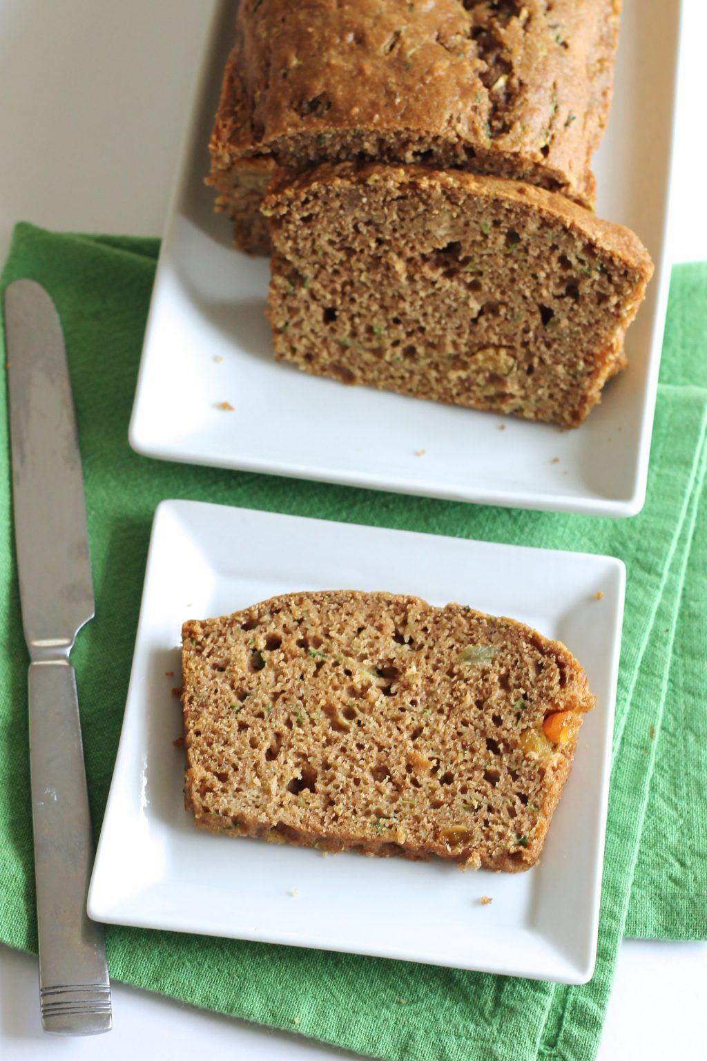 Healthy Wheat Bread  Healthy Whole Wheat Zucchini Bread Little Chef Big Appetite