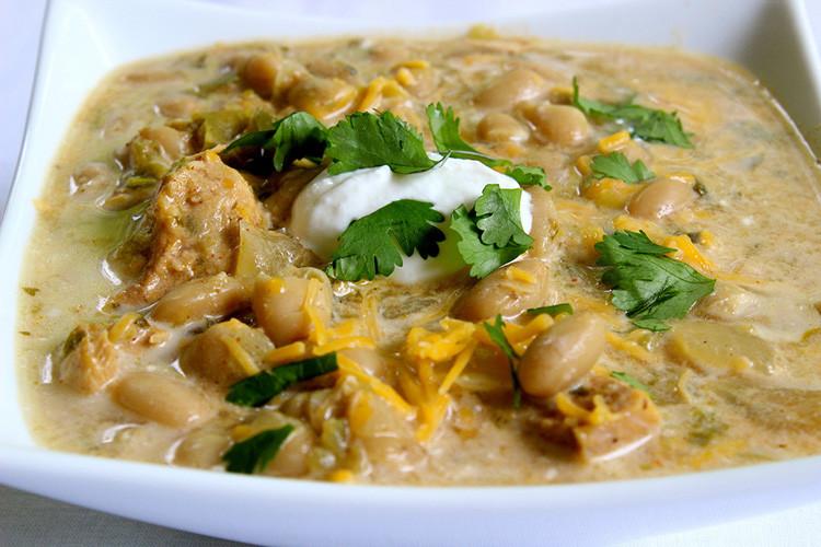 Healthy White Bean Chicken Chili  10 Best Healthy White Bean Chicken Chili Crock Pot Recipes