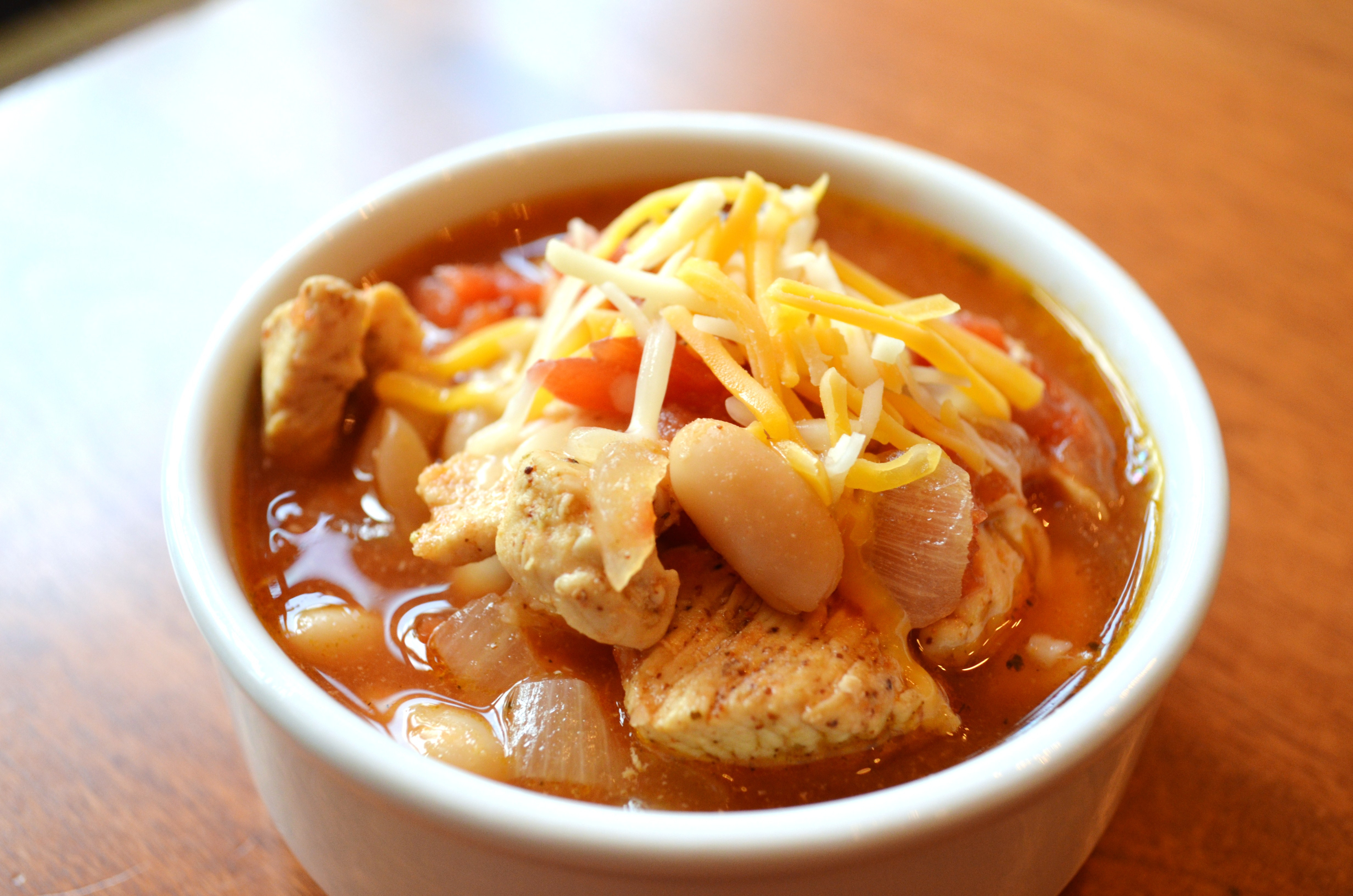 Healthy White Bean Chicken Chili  Healthy Chicken & White Bean Chili • Domestic Superhero
