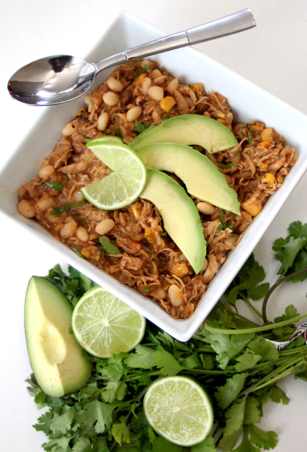 Healthy White Bean Chicken Chili  Healthy Busy Mom Healthy Game Day Recipes White Bean
