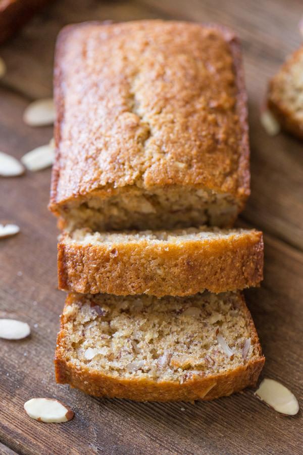 Healthy White Bread  Healthier Banana Bread Lovely Little Kitchen