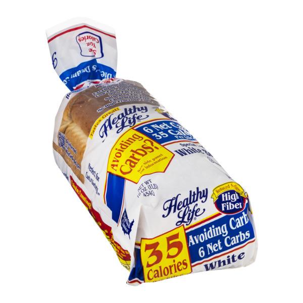Healthy White Bread  Healthy Life White Bread 16OZ