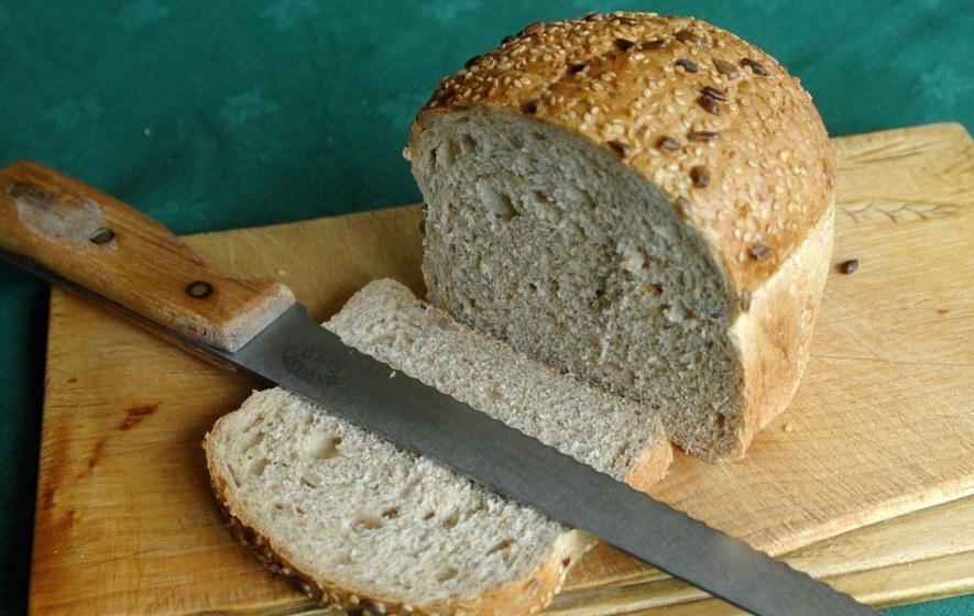 Healthy White Bread  Apparently white bread is just as healthy as brown bread