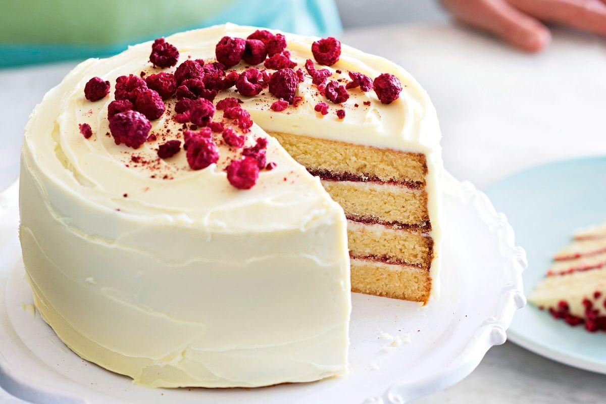 Healthy White Cake Recipe  Anneka Manning s layered white chocolate cake Recipes