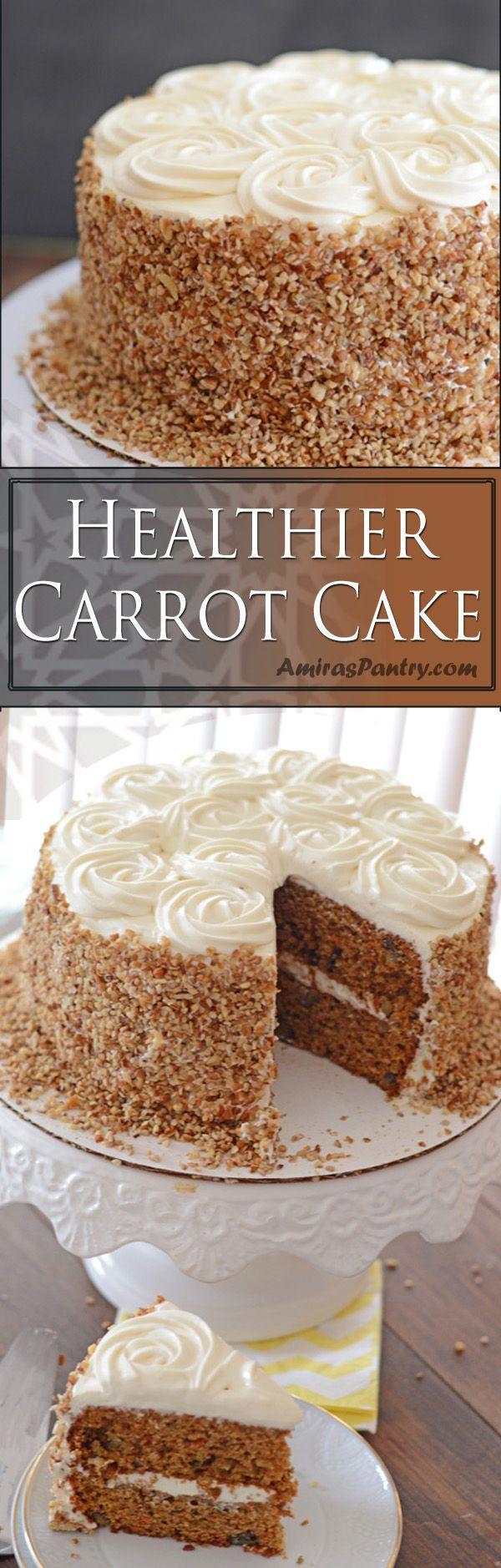 Healthy White Cake Recipe  Best 25 Carrot cake decoration ideas on Pinterest