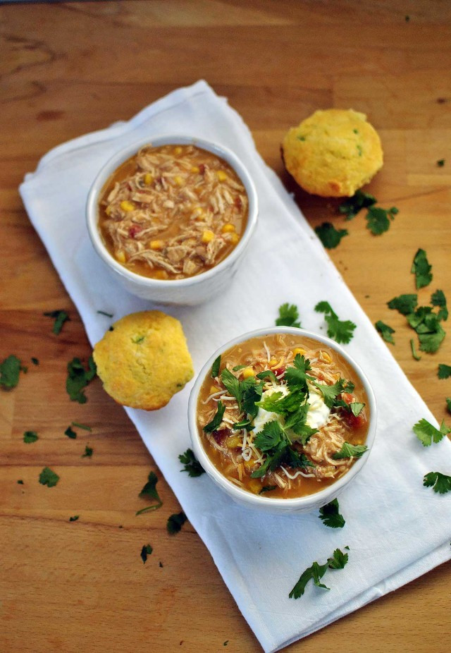 Healthy White Chicken Chili Slow Cooker  Healthy Slow Cooker White Chicken Chili