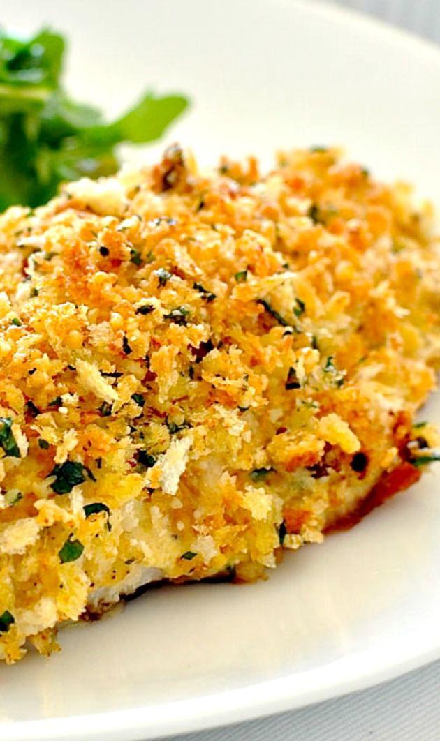 Healthy White Fish Recipes  Healthy Parmesan Garlic Crumbed Fish Recipe