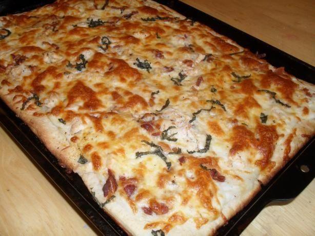 Healthy White Pizza Sauce Recipe  Best 25 White pizza sauce ideas on Pinterest