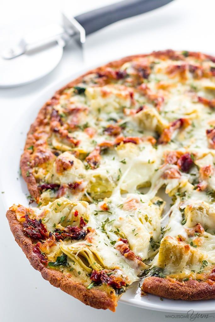 Healthy White Pizza Sauce Recipe  white sauce pizza
