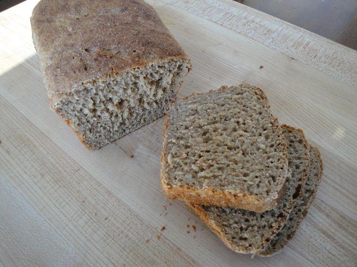 Healthy Whole Grain Bread Machine Recipes  Soaked Whole Wheat Bread for Breadmaker Bread Machine