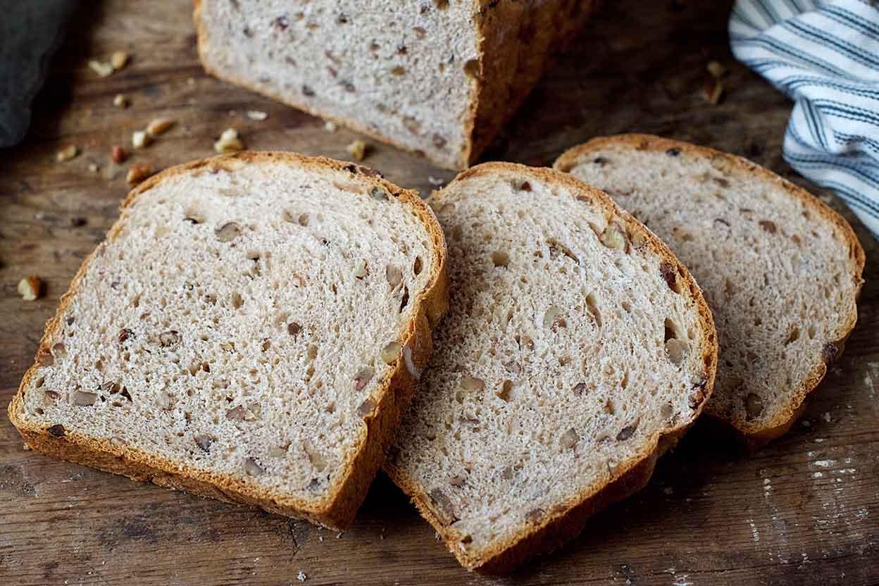 Healthy Whole Grain Bread Machine Recipes  Sprouted Whole Wheat Flour Bread Machine Recipe