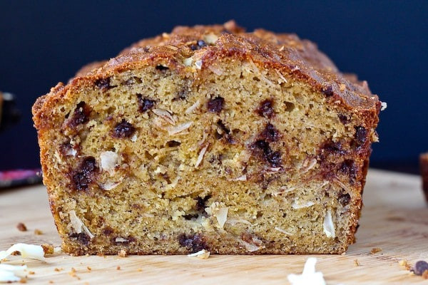 Healthy Whole Wheat Banana Bread  Healthy Whole Wheat Banana Bread with Chocolate Chips and