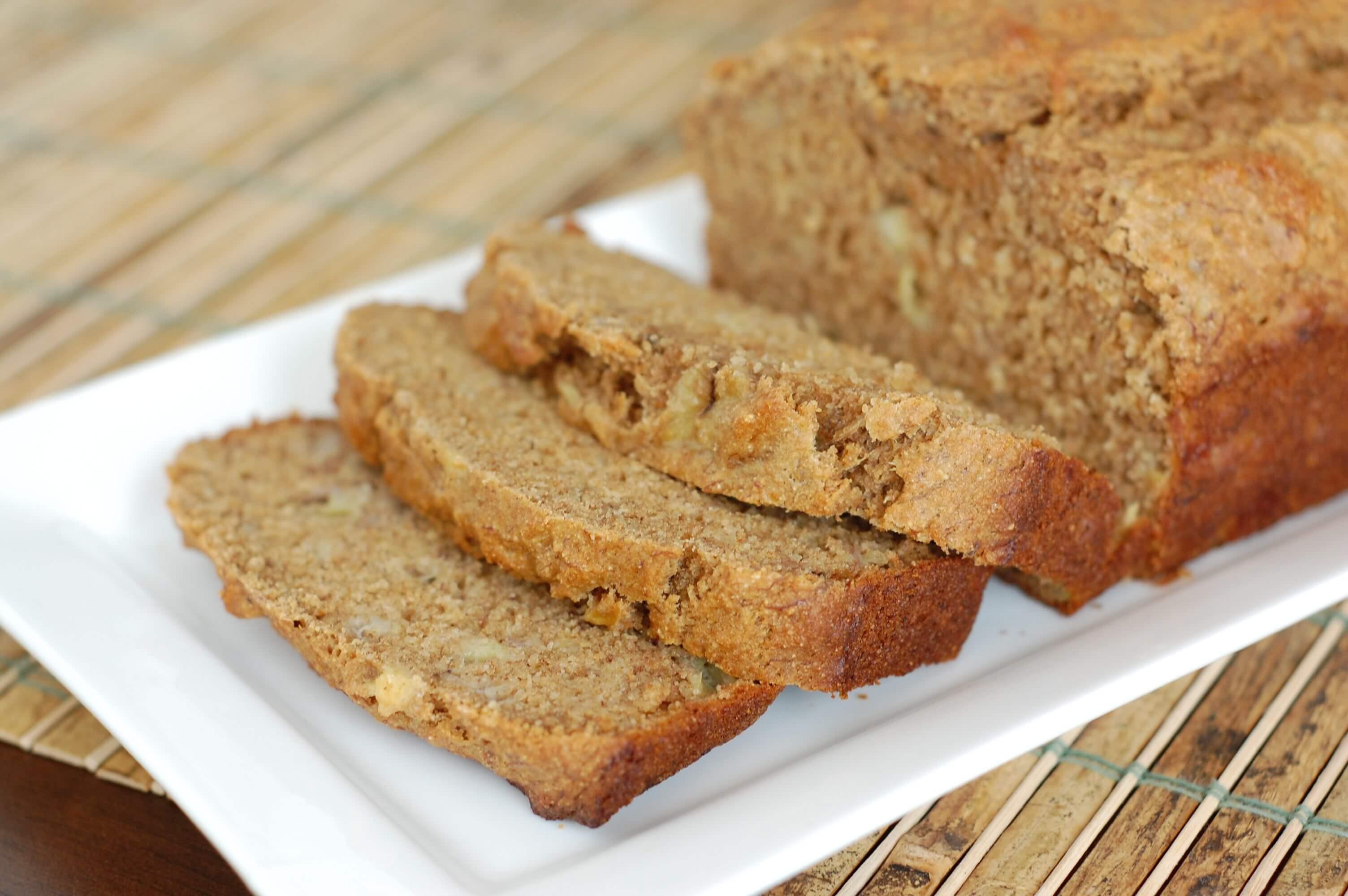 Healthy Whole Wheat Banana Bread  Recipe Whole Wheat Banana Bread 100 Days of Real Food