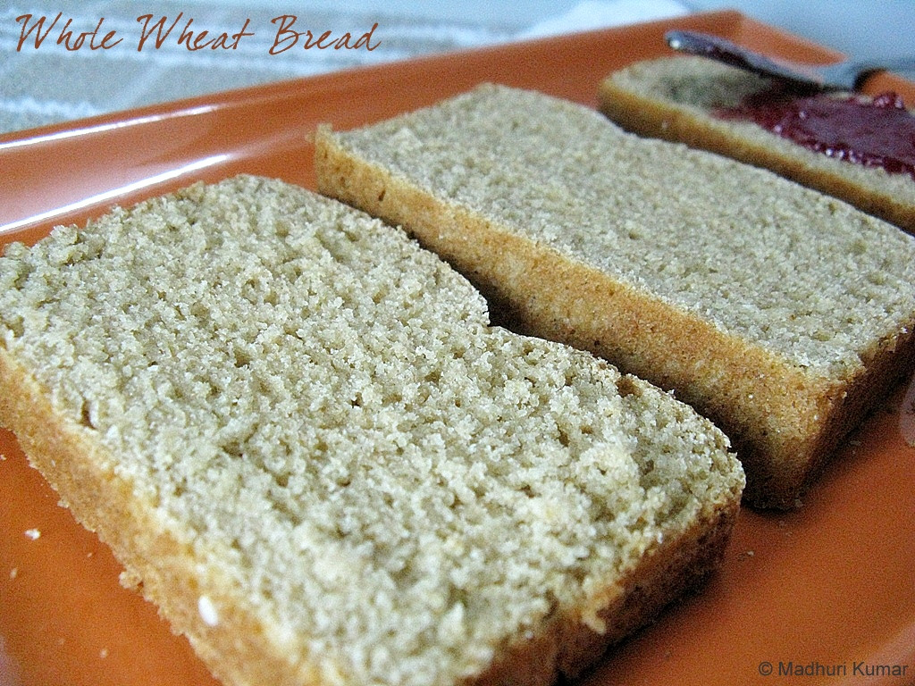 Healthy Whole Wheat Bread  Healthy Whole Wheat Bread