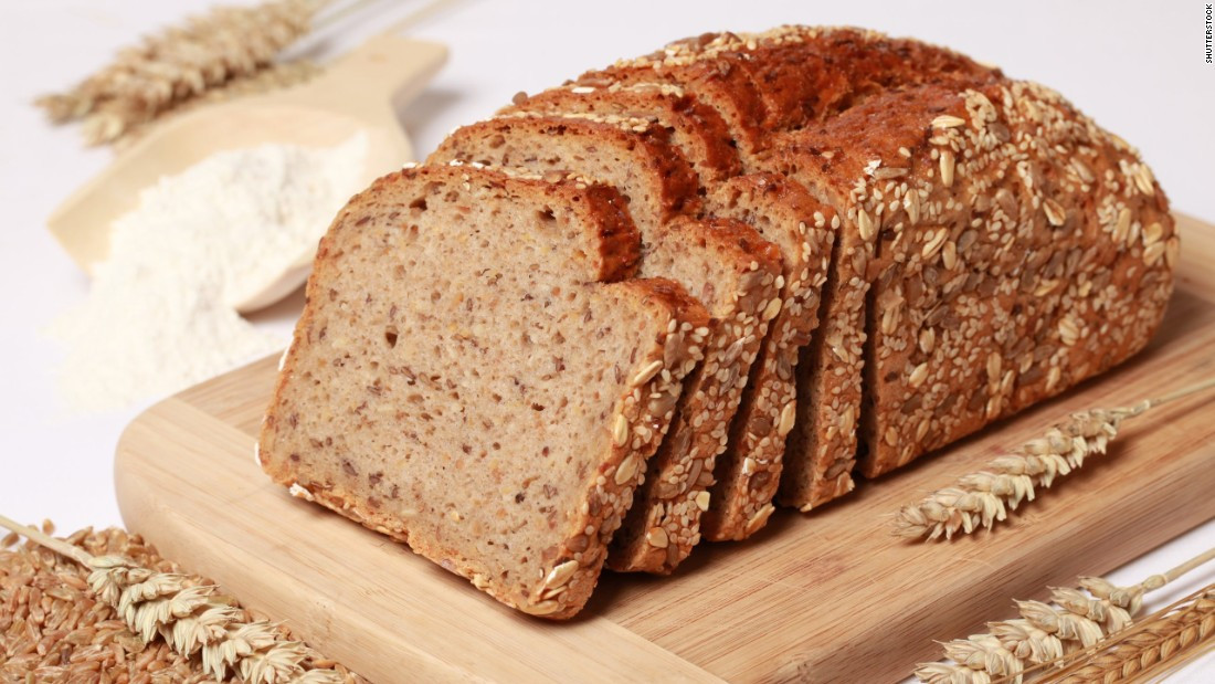 Healthy Whole Wheat Bread  Eating whole grain foods lowers risk of premature CNN