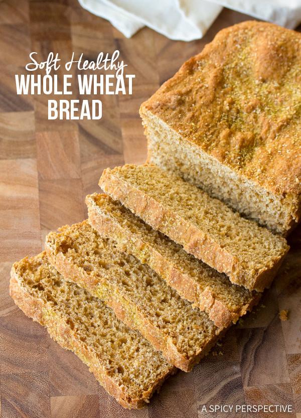 Healthy Whole Wheat Bread  healthy whole wheat bread recipe