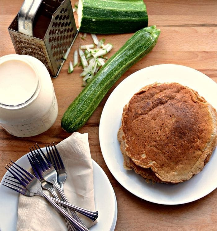 Healthy Whole Wheat Zucchini Bread  Healthy Whole Grain Zucchini Bread Pancakes — Bless this Mess