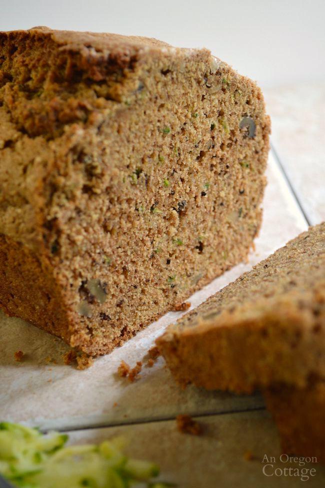 Healthy Whole Wheat Zucchini Bread  Healthy Whole Wheat No Fail Zucchini Bread