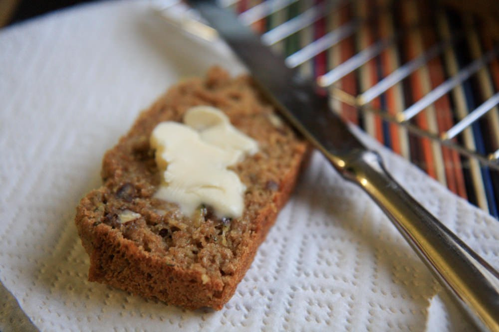 Healthy Whole Wheat Zucchini Bread  healthy whole grain zucchini bread Wholefully