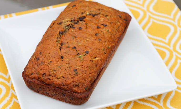 Healthy Whole Wheat Zucchini Bread  Healthy Whole Wheat Zucchini Bread with Chocolate Chips