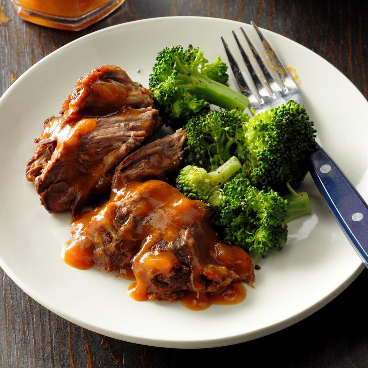 Healthy Winter Dinners  Beef Roast Dinner Recipe