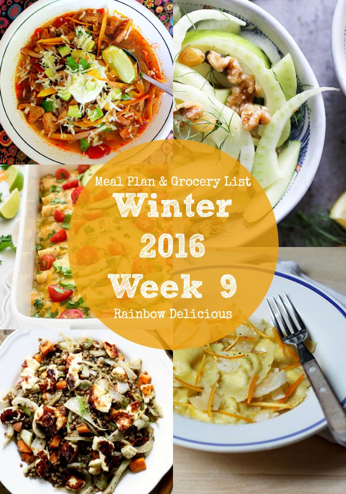 Healthy Winter Dinners  Healthy Dinner Recipes Winter 2016 Week 9 Rainbow Delicious