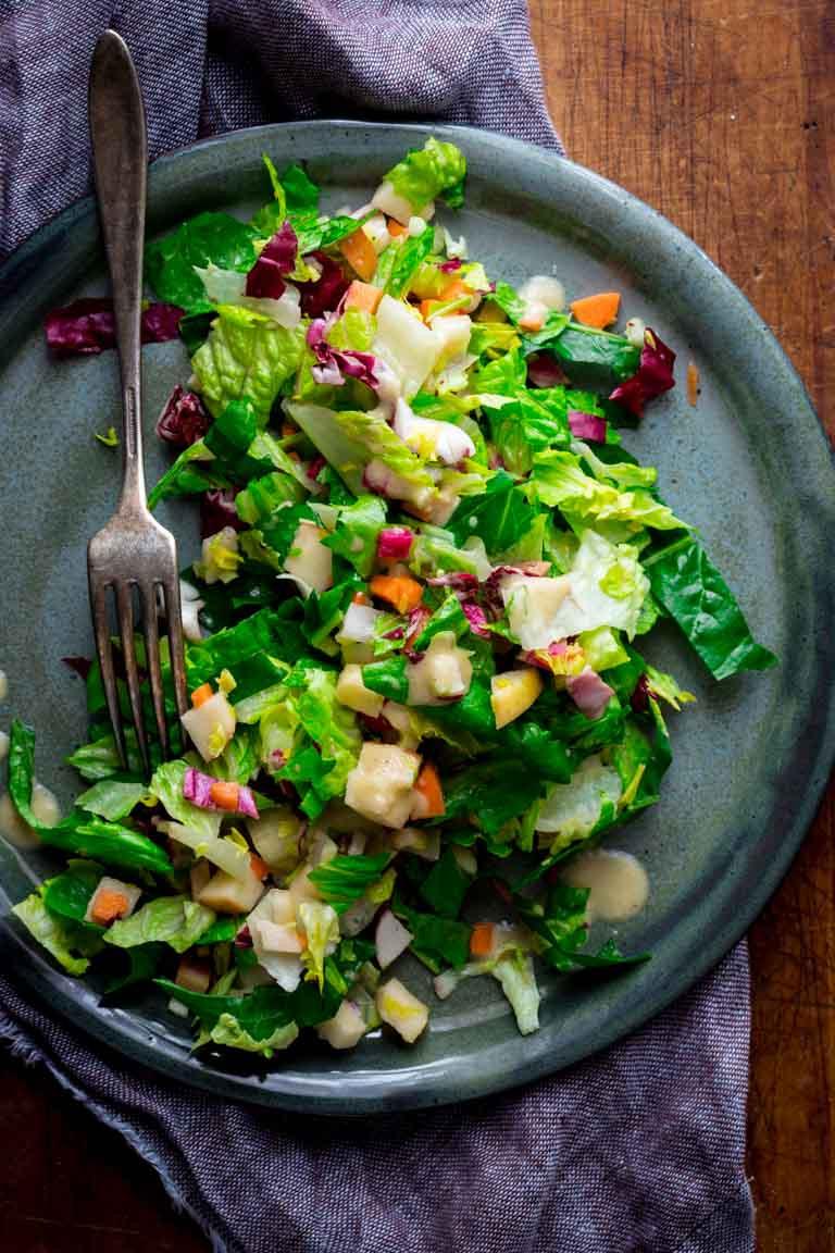 Healthy Winter Salads  chopped winter salad Healthy Seasonal Recipes