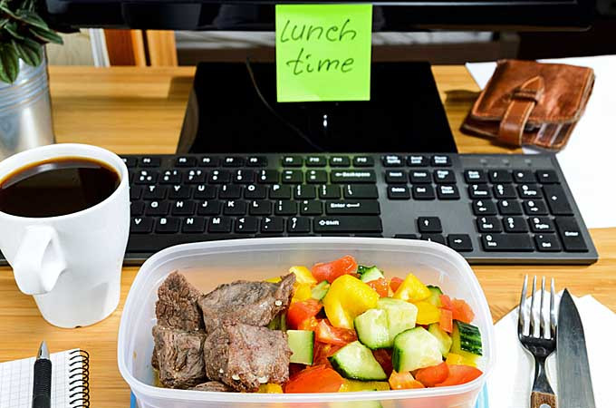 Healthy Work Lunches  Healthy Work From Home Lunches The Top 5 Building Blocks