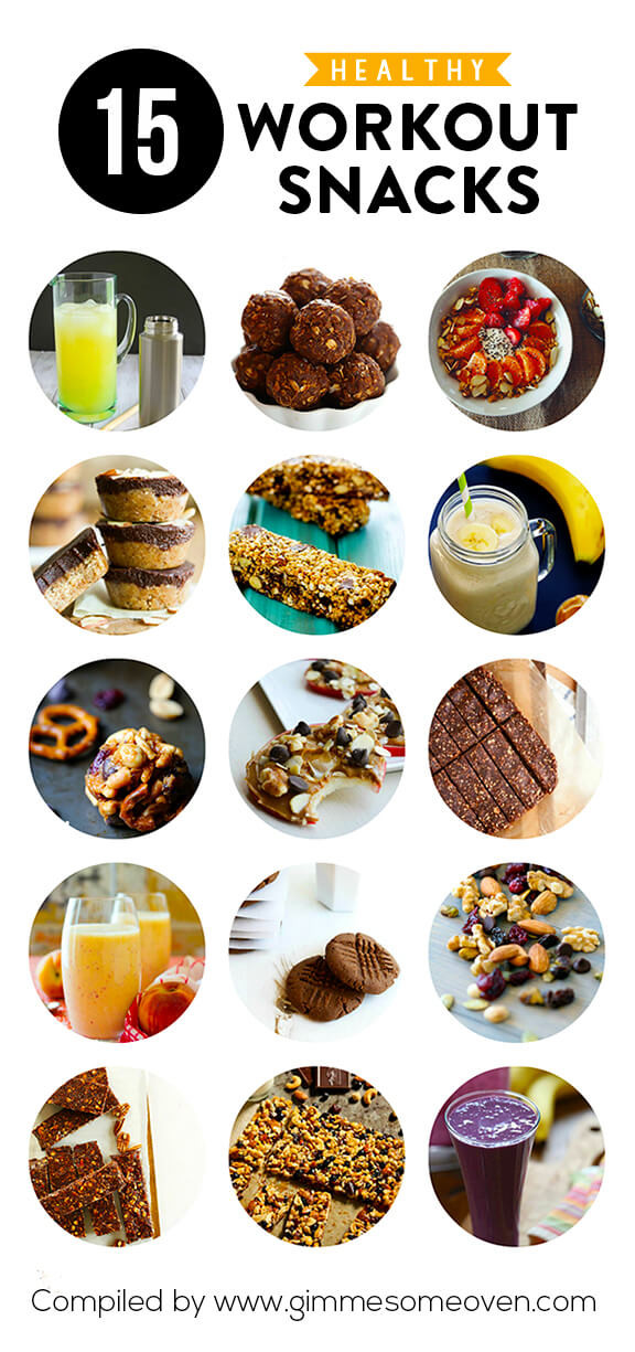 Healthy Workout Snacks  15 Healthy Workout Snacks