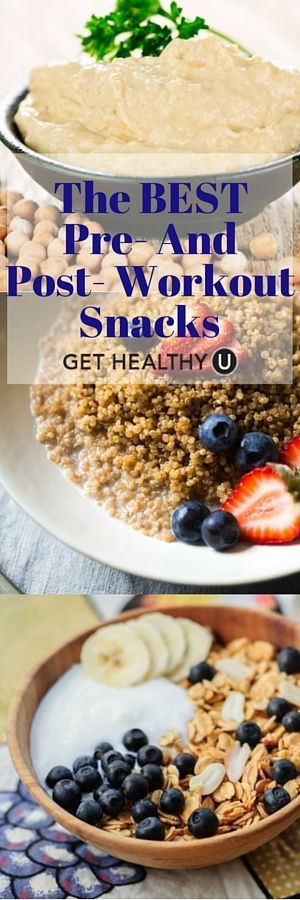 Healthy Workout Snacks  The Best Pre and Post Workout Snacks Get Healthy U