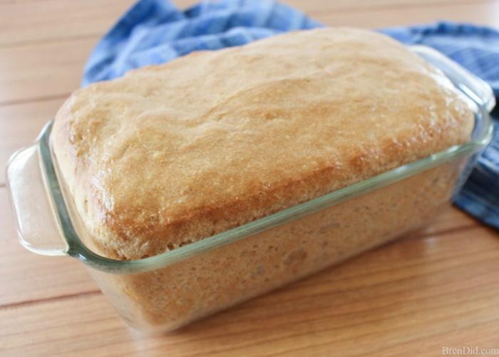 Healthy Yeast Bread Recipes  Healthy Recipe Idea Homemade No Knead Bread Bren Did