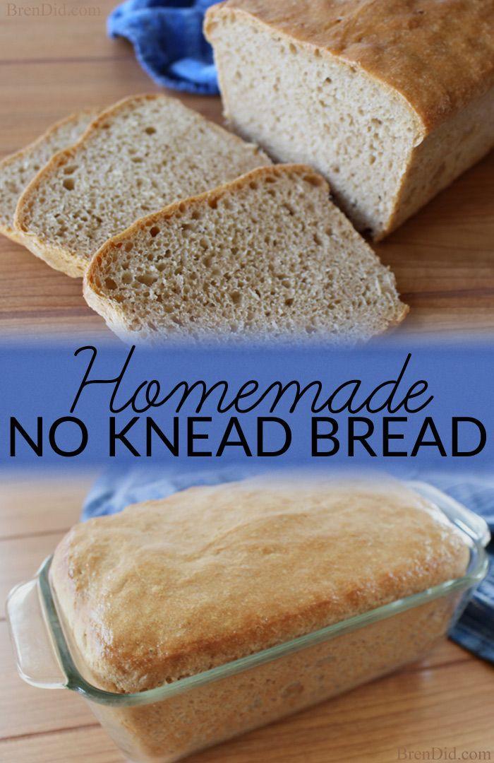 Healthy Yeast Bread Recipes  Healthy Recipe Idea Homemade No Knead Bread