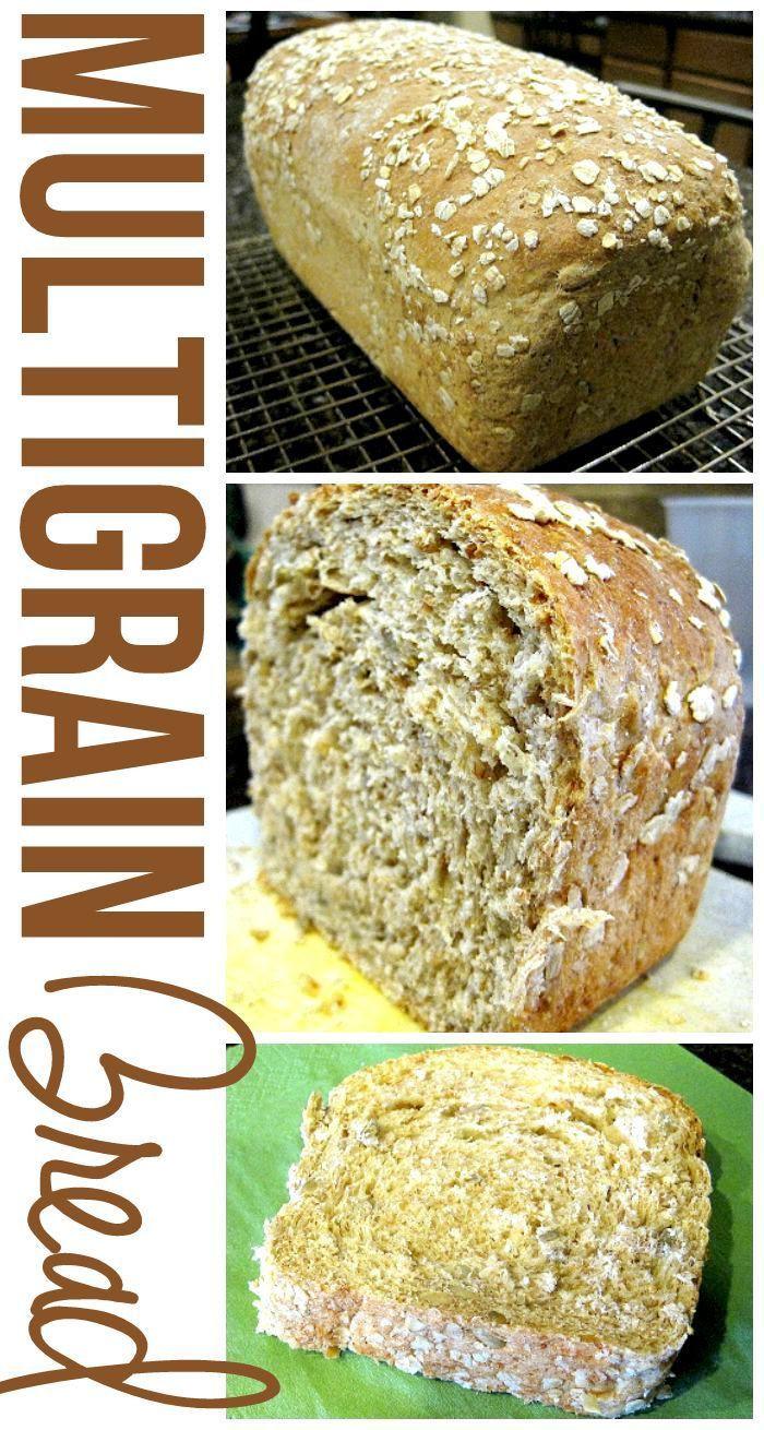 Healthy Yeast Bread Recipes  This Multigrain Bread recipe is simply amazing It s