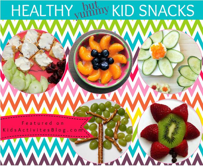 Healthy Yummy Snacks  7 Yummy Healthy Snacks for Kids