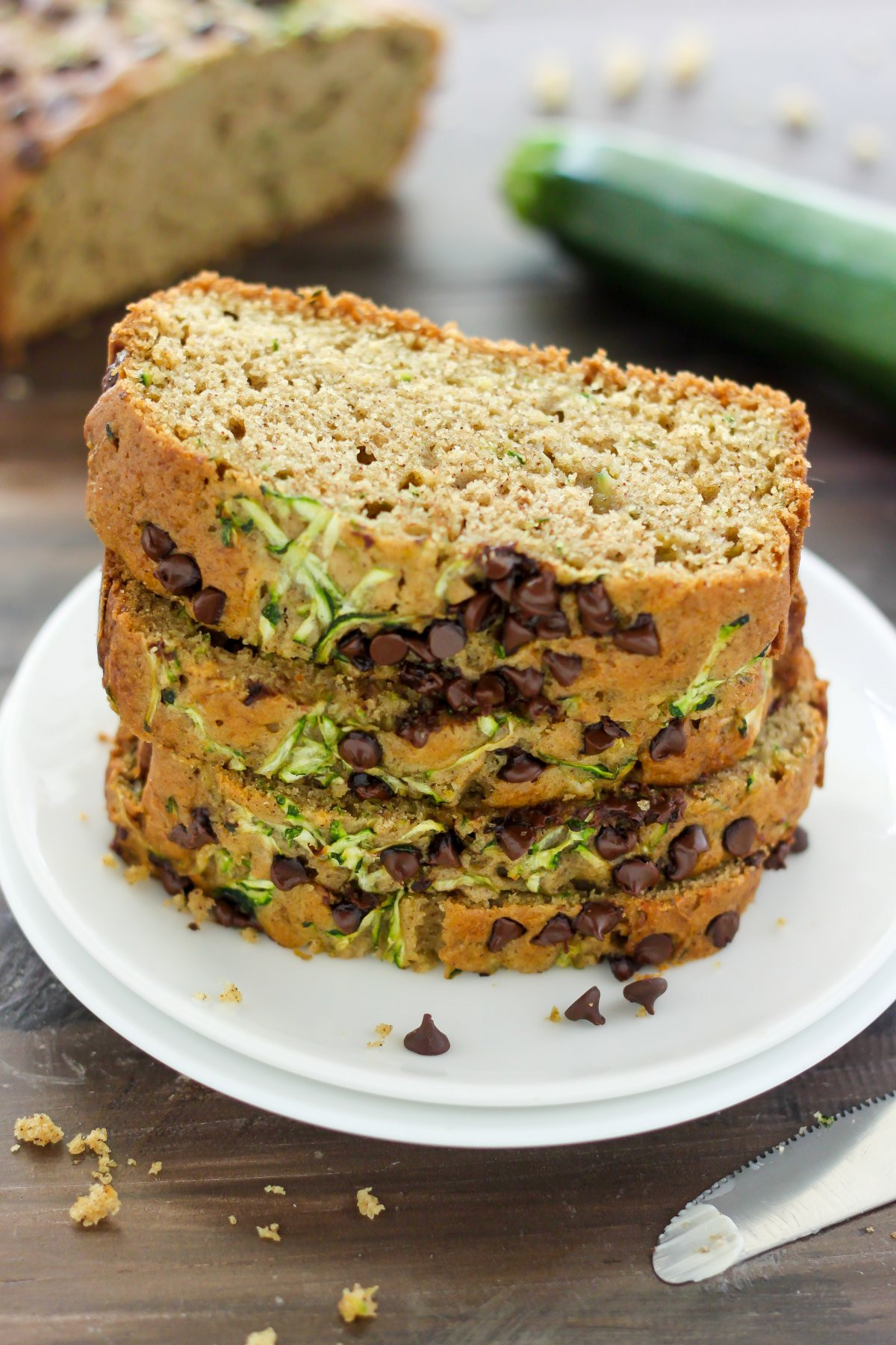 Healthy Zucchini Bread  Healthy Zucchini Bread Baker by Nature