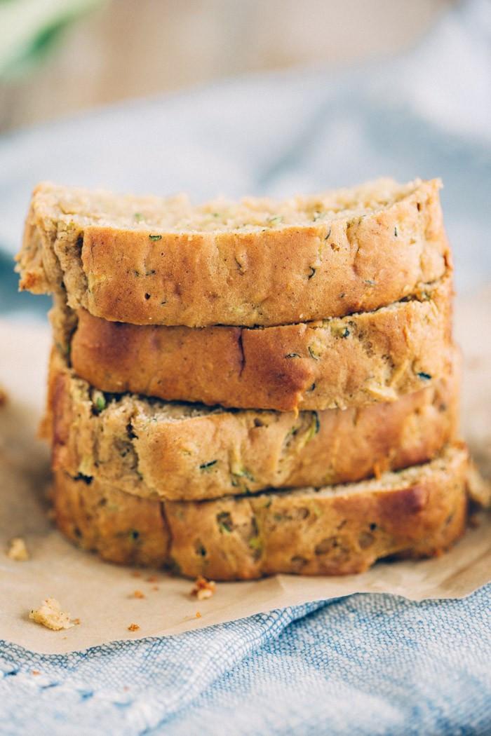 Healthy Zucchini Bread  Healthy Zucchini Bread Eat Yourself Skinny