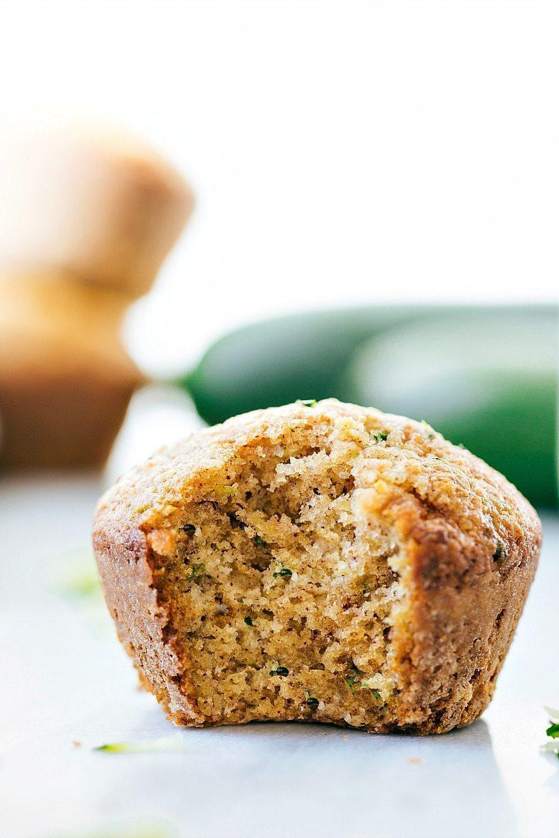 Healthy Zucchini Bread Muffins  Greek Yogurt Zucchini Muffins Chelsea s Messy Apron