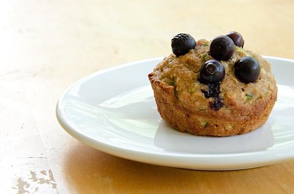 Healthy Zucchini Bread Muffins  Healthy Blueberry Zucchini Muffins Bread Recipe The Chic
