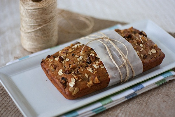 Healthy Zucchini Bread Muffins  Healthy Oatlicious Zucchini Bread and Muffins The Chic Life