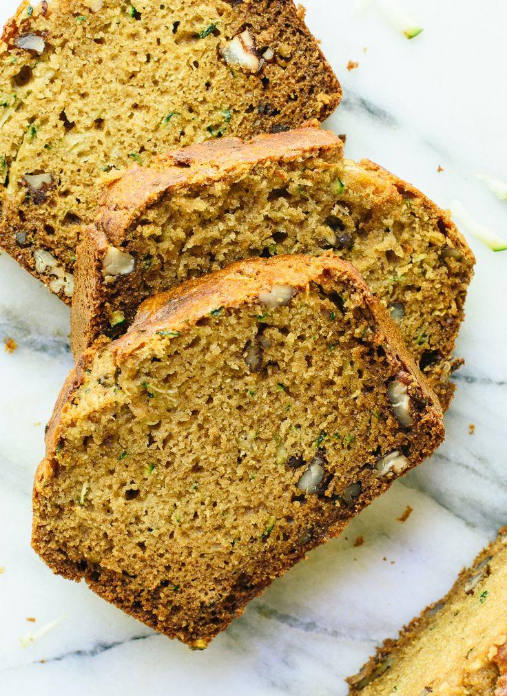 Healthy Zucchini Bread Recipe Applesauce  Best 25 Zucchini bread vegan ideas on Pinterest