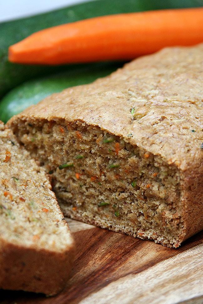 Healthy Zucchini Bread Recipe Applesauce  Recipe For Carrot Zucchini Bread